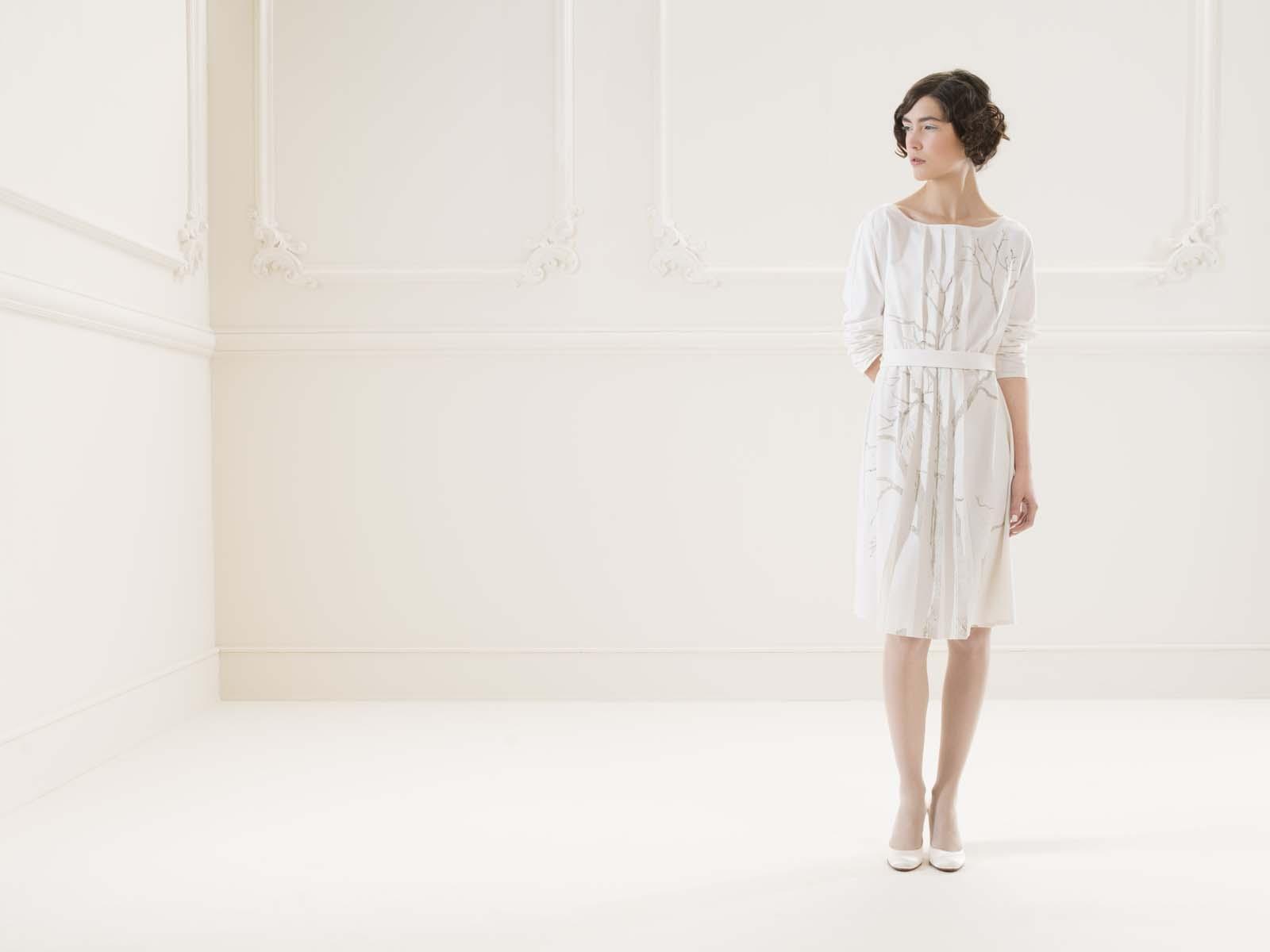 Kleid Krille von meinweiß, weiß, 100% Baumwolle