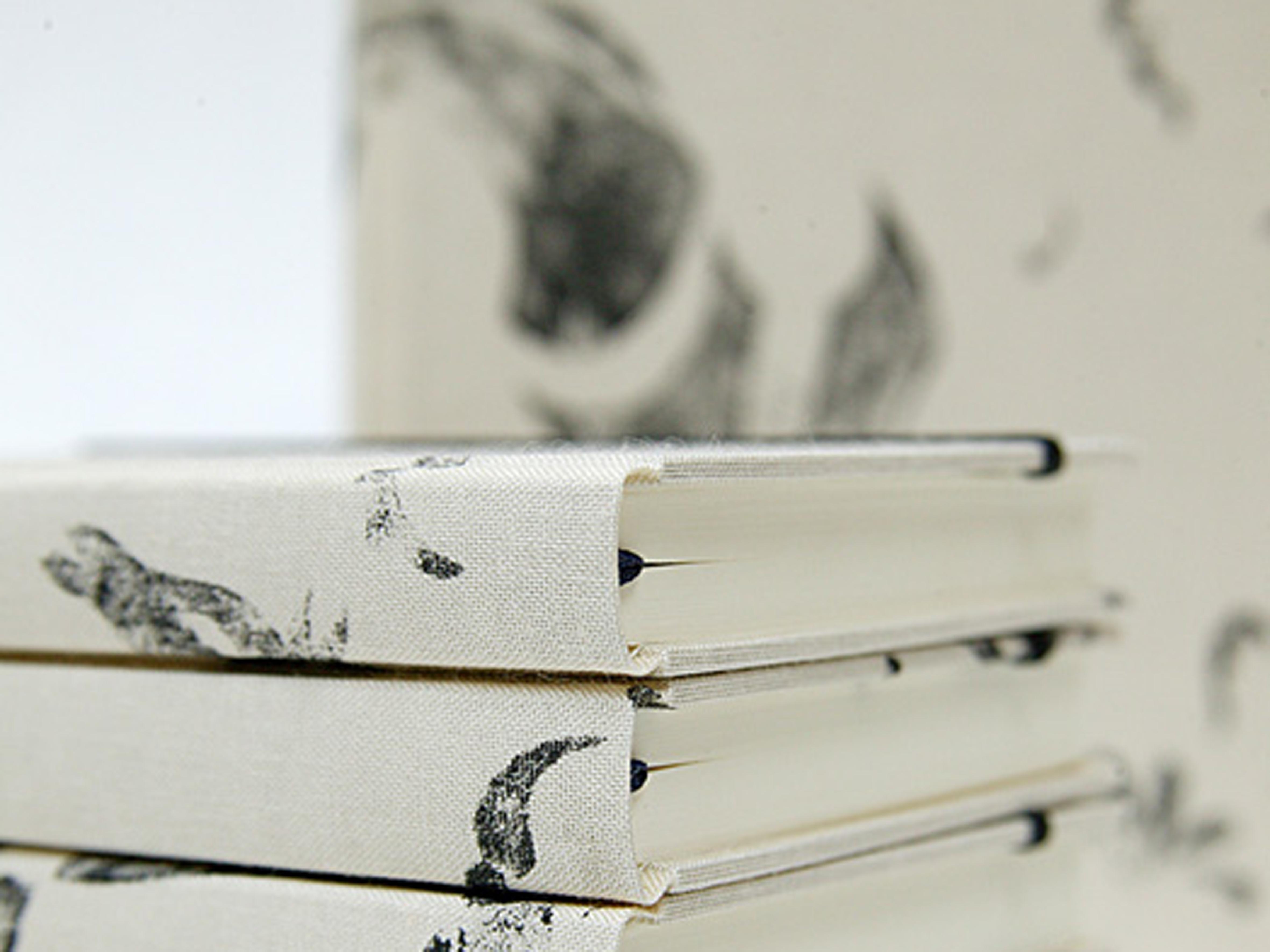 Notizbuch Pferd, in Deutschland handbedruckt und gebunden